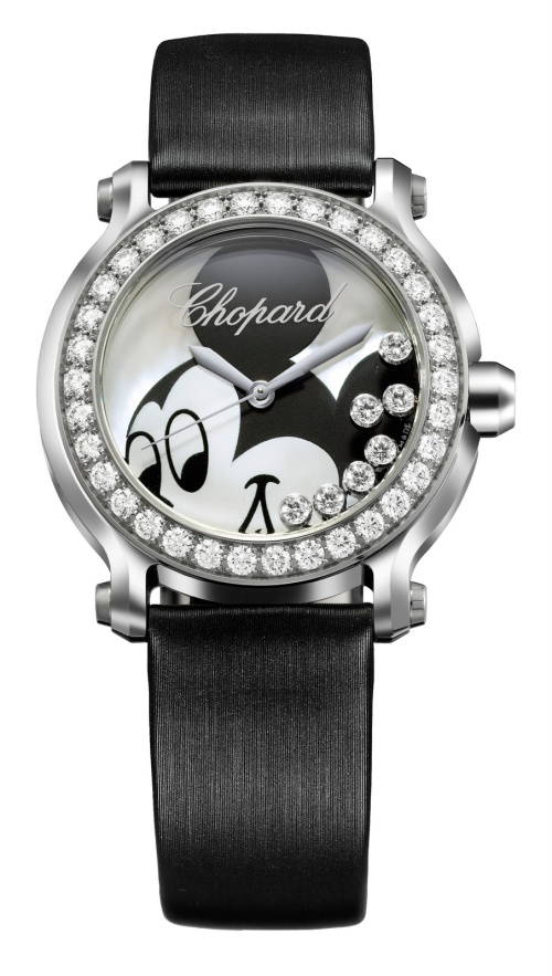 278475-3033 Happy Mickey Watch white