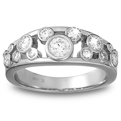 Mickey-Mouse-Diamond-Ring-for-Women-Platinum