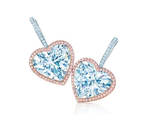 Tiffany-Co-Pink-Melee-heart-earrings