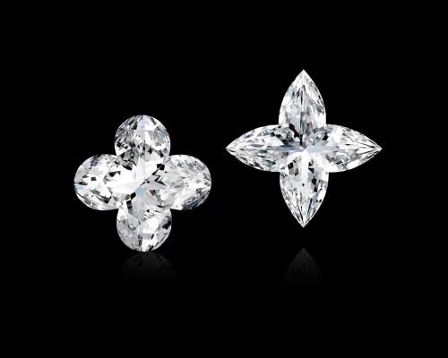 lv-diamond earrings